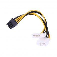 2 Molex на 8PIN PCI-E