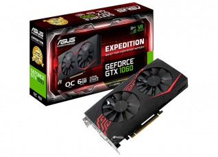 Asus GeForce GTX 1060 Expedition OC 6GB