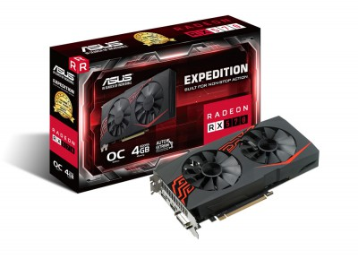 Asus Radeon EX RX570 O4G, 4GB GDDR5