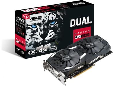 Asus RX 580 Dual OC 4GB