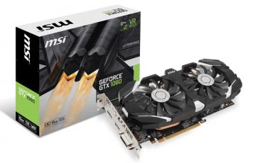 MSI PCI-Ex GeForce GTX 1060 OC 6GB
