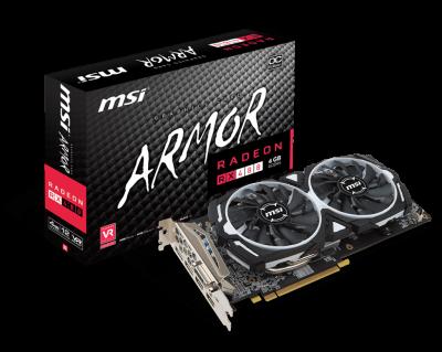 MSI RX 480 ARMOR 4GB SAMSUNG