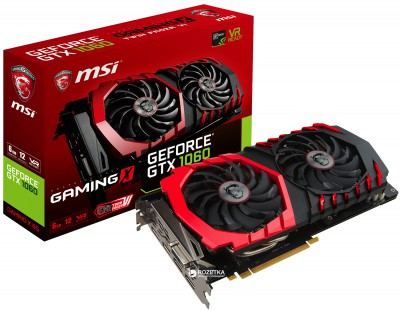 MSI GeForce GTX 1060 Gaming X 3GB