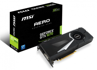 MSI GeForce GTX 1070 AERO 8GB