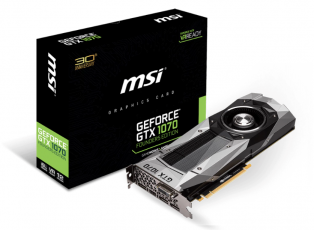 MSI GeForce GTX 1070 Founders Edition 8GB