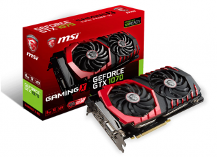 MSI GeForce GTX 1070 Gaming X 8GB