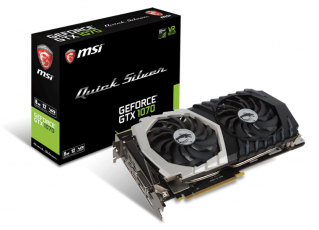 MSI GeForce GTX 1070 Quick Silver OC 8GB