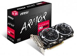 MSI Radeon RX 570 Armor 4G OC 4GB GDDR5