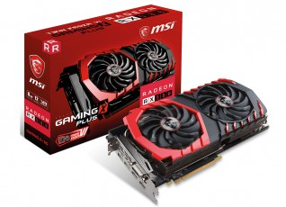 MSI Radeon RX 580 Gaming X+ 8GB