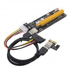 Riser Card PCI Express  ver.006 Molex с USB 3.0