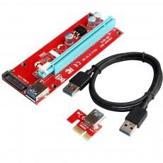 Riser Card PCI Express ver.007S Sata с USB 3.0
