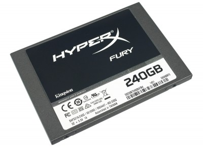 "Kingston HyperX Fury 120GB 2.5"" SATAIII MLC"