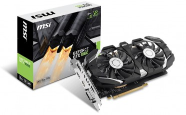 MSI PCI-Ex GeForce GTX 1060 OC 3GB